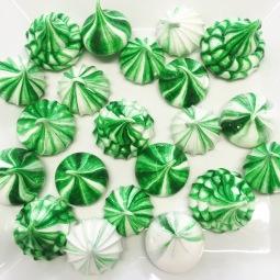 Green Meringues