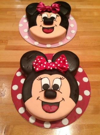 1 Tier Mini Mouse Cakes
