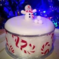 1 Tier 'Mini' Christmas Cake