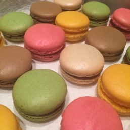 Mixed Flavour Macarons - Lemon, Raspberry, Cardamom, Coconut and Chocolate