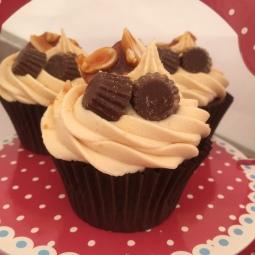 Peanut Butter Cupcakes